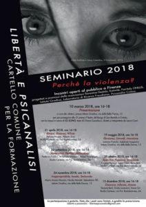 locandina seminario libertà e psicanalisi
